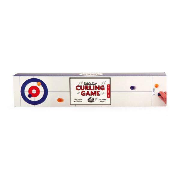 Kikkerland Table Top Curling Game