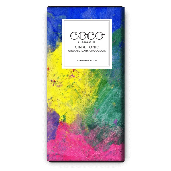 Coco Chocolatier Gin & Tonic Dark Chocolate
