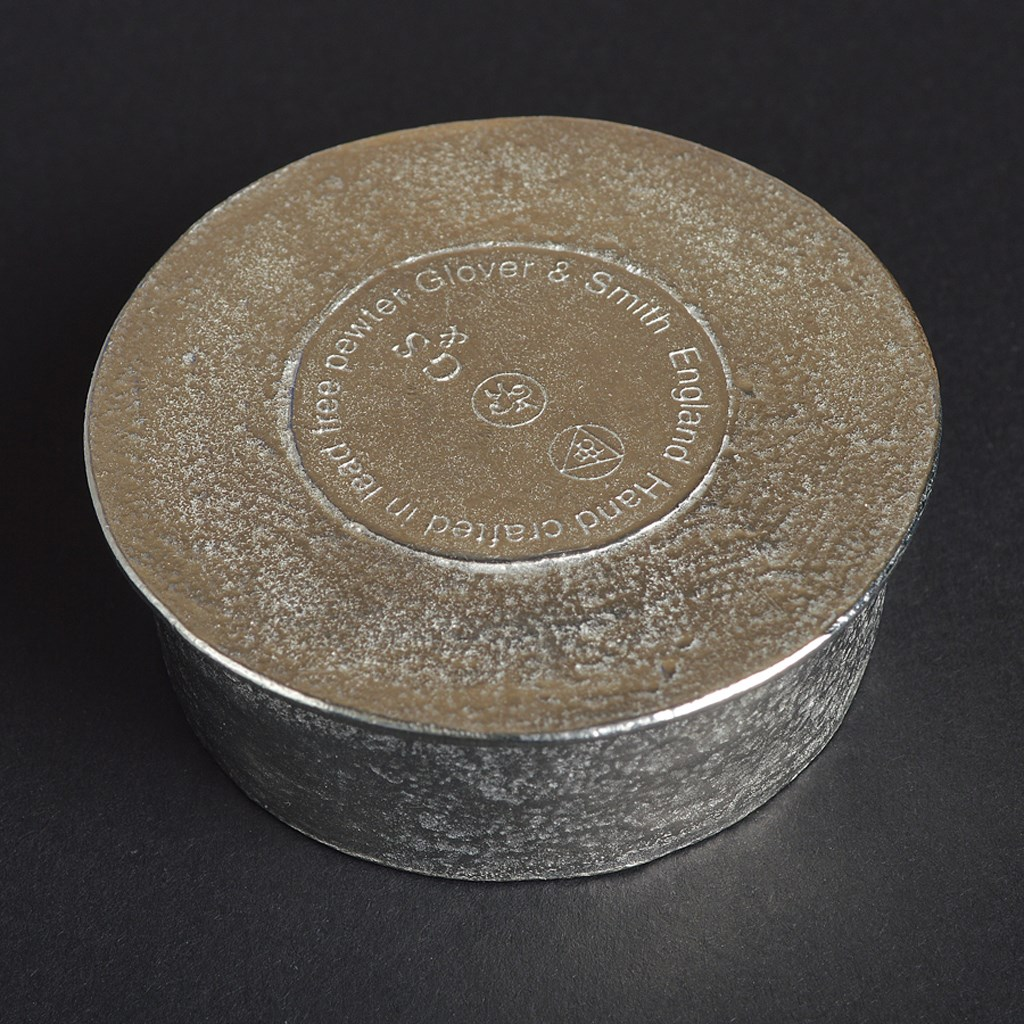 Robbie Burns 'To A Mouse' hand crafted pewter trinket box