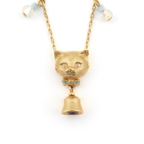Bill Skinner Kitten Bell Pendant