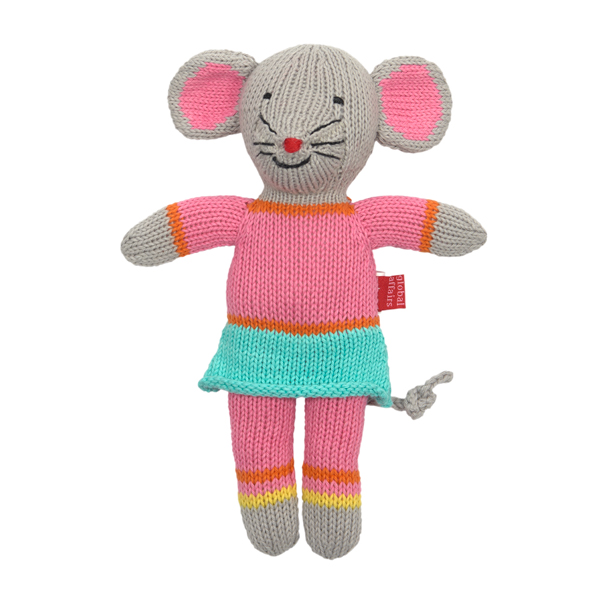 Knitted Mini Mouse Girl