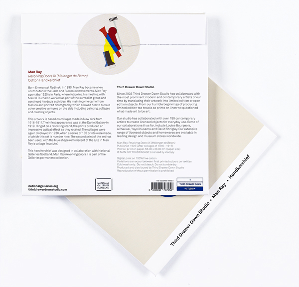 Revolving Doors IX Man Ray Handkerchief