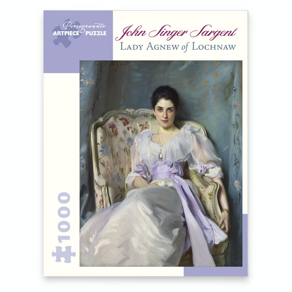Lady Agnew of Lochnaw jigsaw puzzle (1000 pieces)