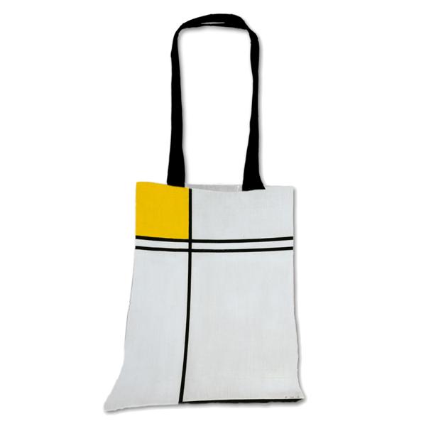 Composition Piet Mondrian Tote Bag
