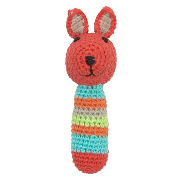 Crochet Rattle Bunny