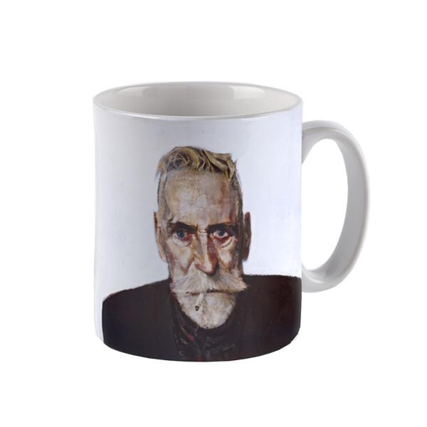 Self-Portrait John Byrne Mug