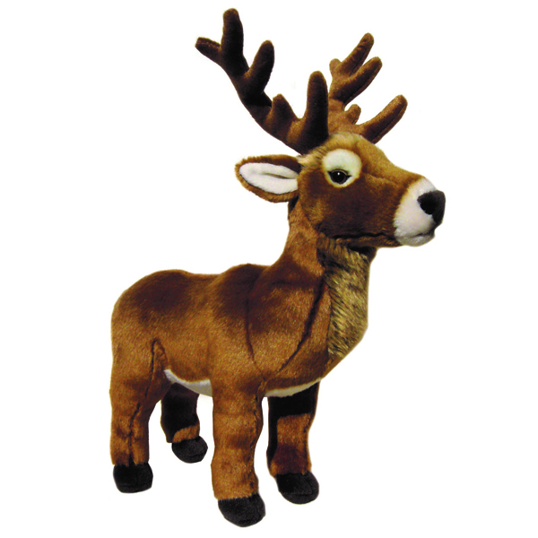 Highland stag soft toy