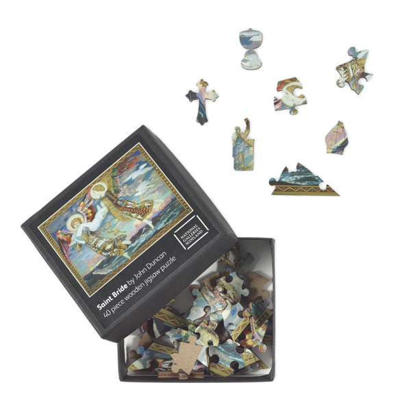 Saint Bride (40 pieces) Wooden Jigsaw Puzzle
