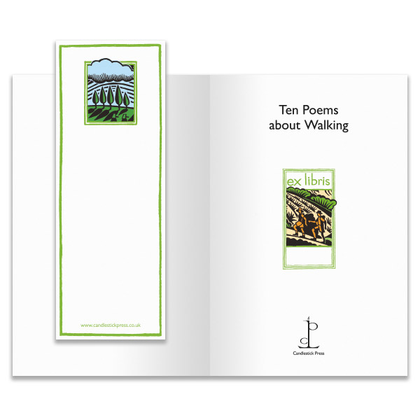 Ten poems about walking gift book