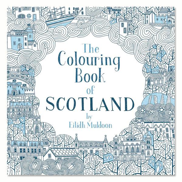 The Colouring Book of Scotland