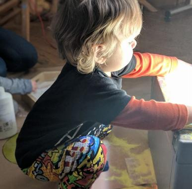 Open Studio: Make an Impression (Ages 1-3)