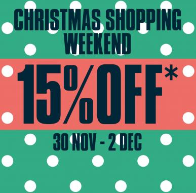 Christmas Shopping Weekend