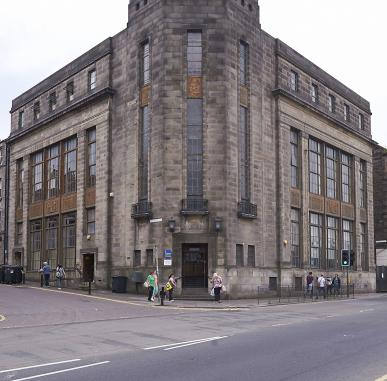 The Publisher, the Architect and the Sculptor: The Building of Fountainbridge Library
