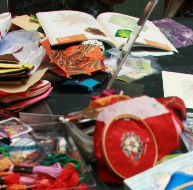 National Day of Stitch: Stitching in the Gallery