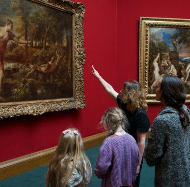 Family Art Tours (Ages 6+)