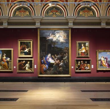 Gabriele Finaldi at The National Gallery, London