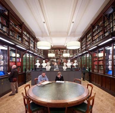 In the Mind's Eye: Portrait Gallery Library