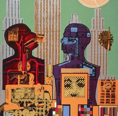Visually Impaired Tour and Workshop: Warhol and Paolozzi | I want to be a Machine