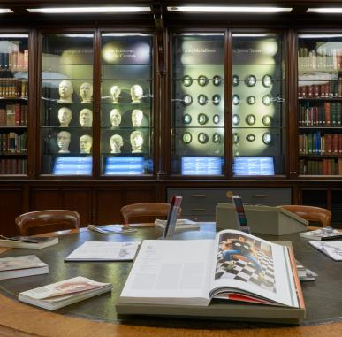 Visually Impaired Tour and Workshop: Portrait Gallery Library and Phrenology Collection