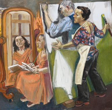 Visually Impaired Tour and Workshop: Paula Rego