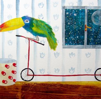 Illustrating Books for Children: Petr Horacek & Will Hughes