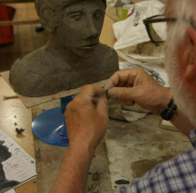 Sculpting the Head Using Clay
