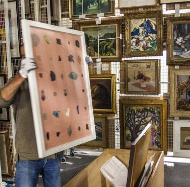 Behind the Scenes at the National Galleries of Scotland Stores