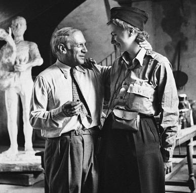Lee Miller and Picasso