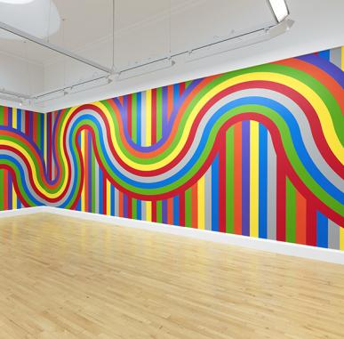 ARTIST ROOMS: Sol LeWitt, Wall Drawing #1136, 2004