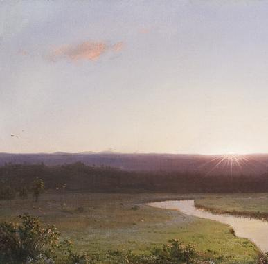 Through American Eyes   Frederic Church and the Landscape Oil Sketch