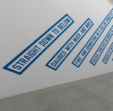 ARTIST ROOMS: Lawrence Weiner - Tate St Ives
