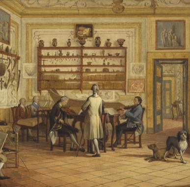 In Focus: Two Neapolitan Interiors by Pietro Fabris (1771)