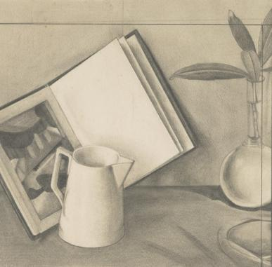 Still Life Drawing in the Gallery