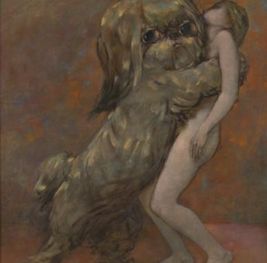 New Acquisition: Tableau Vivant by Dorothea Tanning  (1954)