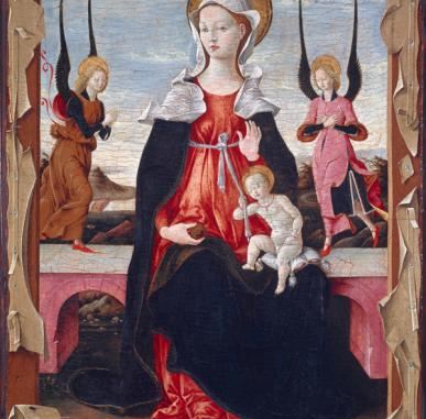 In Focus: Ferrarese School The Virgin and Child with Angels