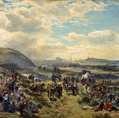 In Focus: Royal Volunteer Review (1860) by Samuel Bough