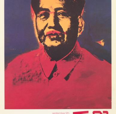 Andy Warhol's Chairman Mao portrait and Maoism in the West