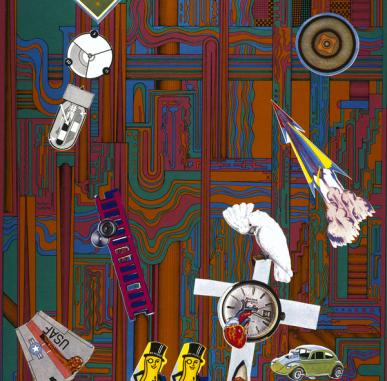 Andy Warhol and Eduardo Paolozzi Exhibition Tour: Constructed Images - Paolozzi's Collages