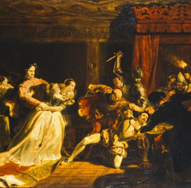 In Focus: The Murder of Rizzio (1833) by Sir William Allan
