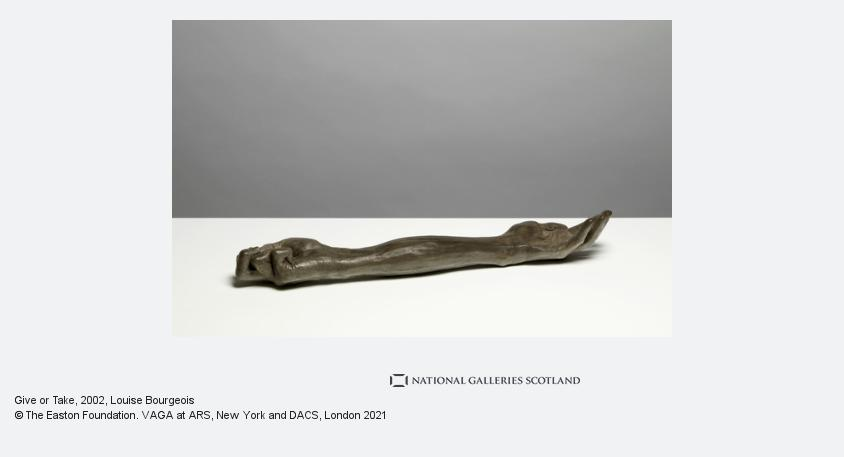 Louise Bourgeois, Give or Take