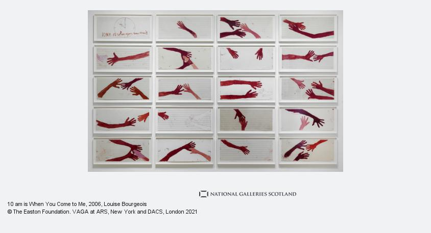 Louise Bourgeois, 10 am is When You Come to Me