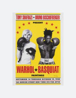Warhol / Basqiuat Paintings (1985 / 1999)