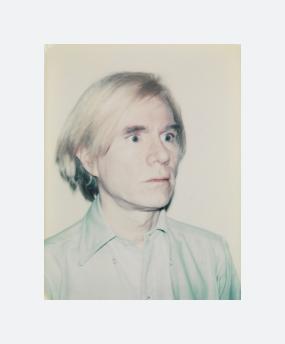 Self-Portrait in Blue Shirt (1977-1978)