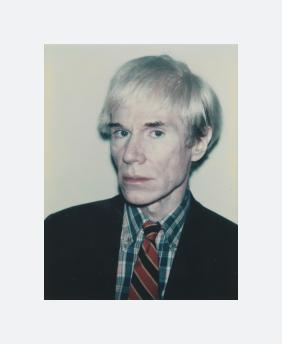 Self-Portrait in Dark Suit and Plaid Shirt (1981)