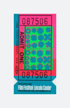 Lincoln Centre Ticket (1967)