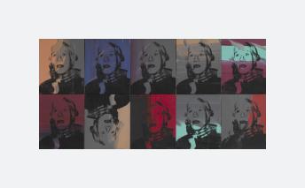 Self-portrait strangulation (1978)