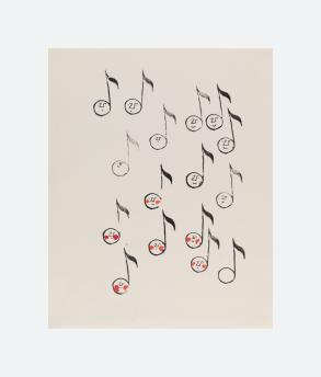 Musical Notes and Sprite Faces (1953)