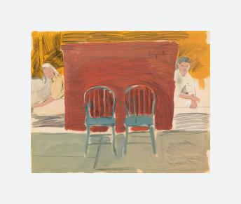Man and Woman and Two Chairs (1960 - 1962)