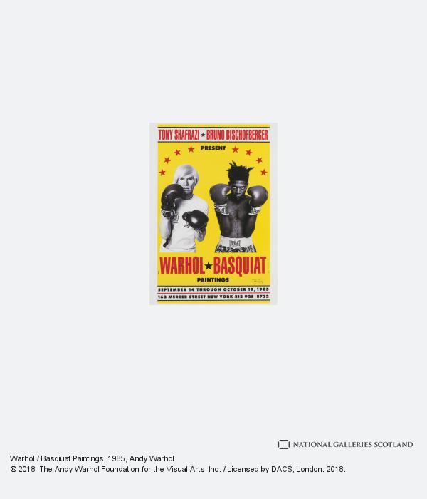 Andy Warhol, Warhol / Basqiuat Paintings (1985 / 1999)