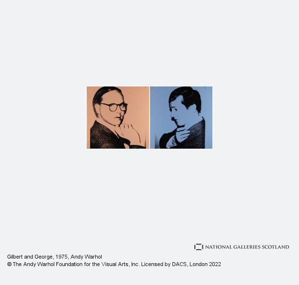 Andy Warhol, Gilbert & George (1975)